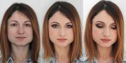 before and after makeup 1