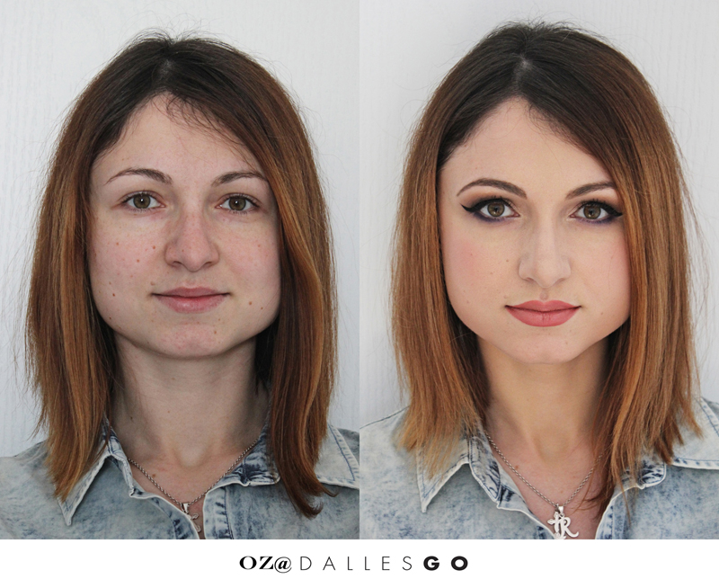 before and after makeup  2