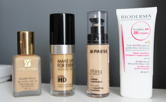 Top 3 fonduri de ten preferate + 1 BB cream